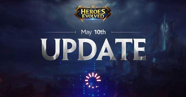 Heroes Evolved 10 Mayıs Güncellemesi Yayınlandı