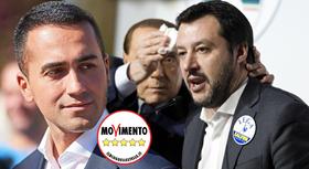 Di Maio Salvini Silvio