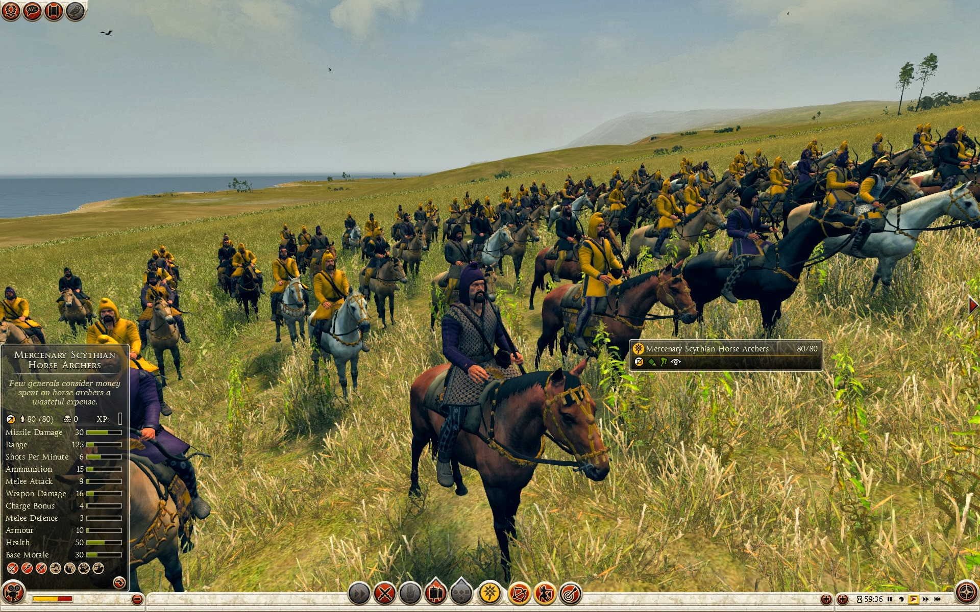 Mercenary Scythian Horse Archers