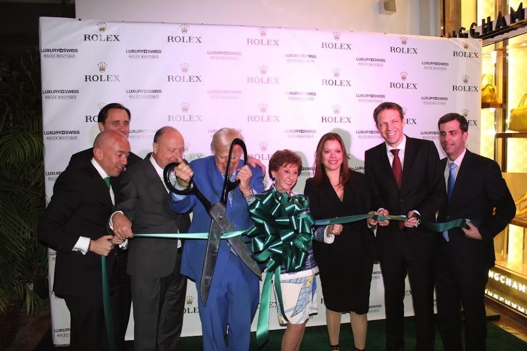 Rolex Miami Boutique Luxury Swiss LLC Ribbon Cutting 6