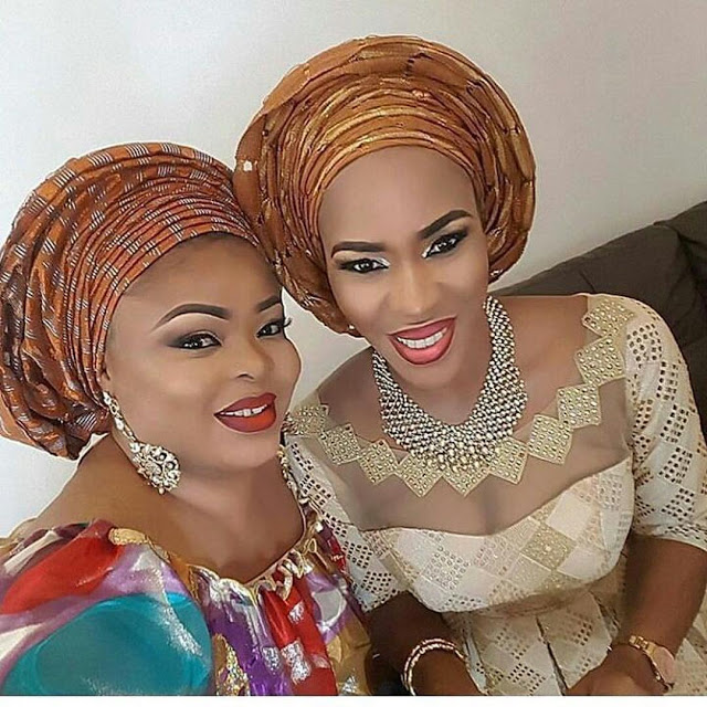 Fathia Balogun & Dayo Amusa Blasted For Posting This Make Up Photo