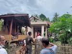 Angin Kencang Rusak Atap Rumah Warga dan Pohon Tumbang