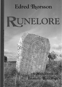 Cover of Edred Thorsson's Book Runelore A Handbook Of Esoteric Runology