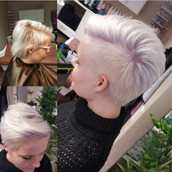 Short Haircuts With Shaved Sides For Women Cinefog