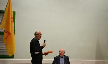 Photo: 8 - J.M. Florès adresse ses remerciements au conférencier