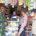 Patroli Gabungan, Babinsa Tegur Penjual dan Pembeli Yang Tidak Patuhi Prokes Covid-19