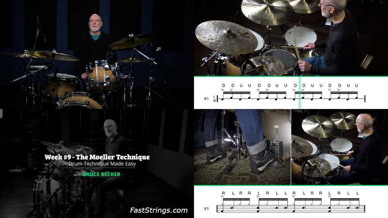 Bruce Becker - Drum Technique Made Easy