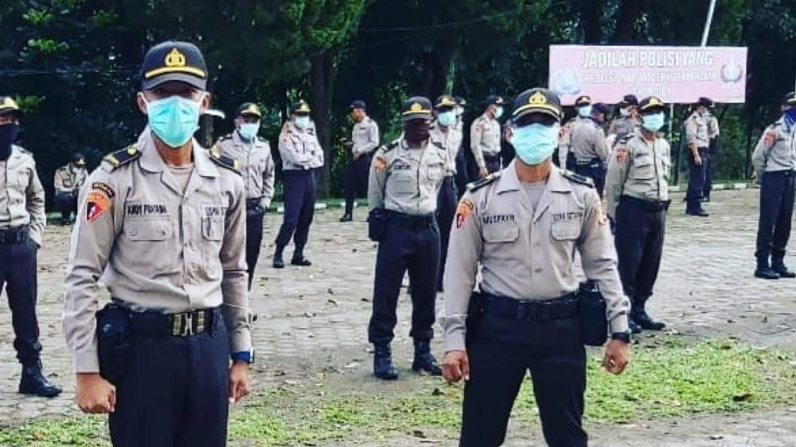Rapid Test, 300 Siswa Setukpa Polri Sukabumi Positif Corona