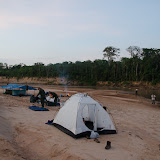 Entre Rurrenabaque et la Reserva de Biosfera de Pilón Lajas. Campement au bord du Rio Quiquibey (Beni, Bolivie), 28 octobre 2012. Photo : C. Basset