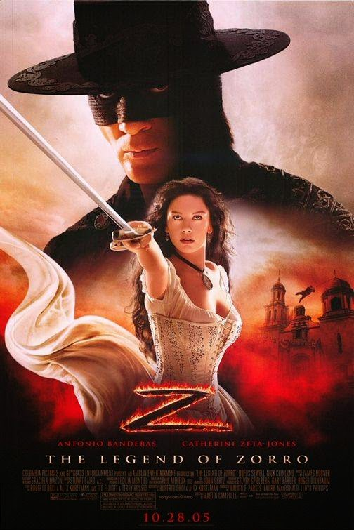Poster Of The Legend of Zorro (2005) Full Movie Hindi Dubbed Free Download Watch Online At alldownloads4u.com