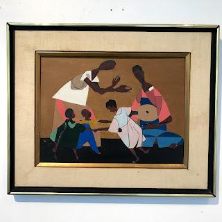 M. Shophet Signed Painting