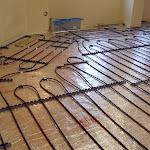 Floor heat in the temple