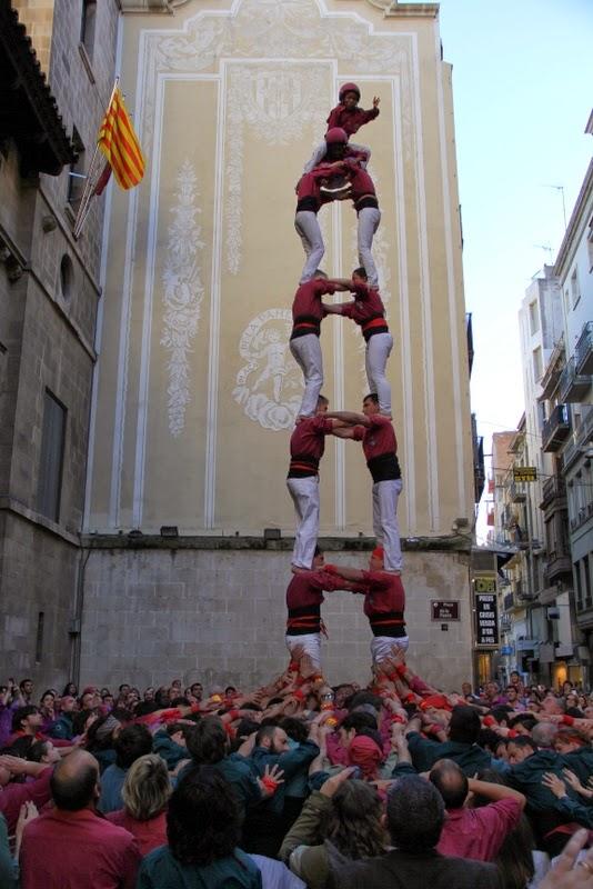 19è Aniversari Castellers de Lleida. Paeria . 5-04-14 - IMG_9458.JPG