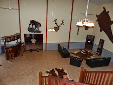 Carmor Plains Lodge looking downstairs