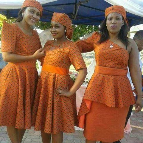 Glamorous Shweshwe Dresses 2017 / 2018