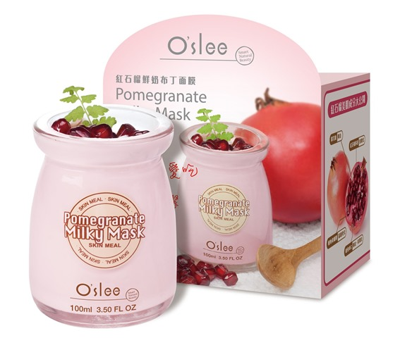 O'slee Pomegranate Milky Mask