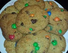 Cookies aux M et M's