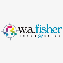 W.A. Fisher Interactive logo