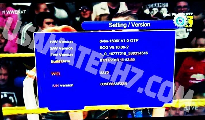 1506f New Software Version SOG Sony Network OK