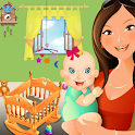 Mommy & Baby Fun Caring icon