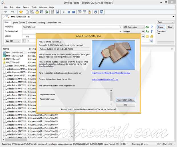 FileLocator Pro 8