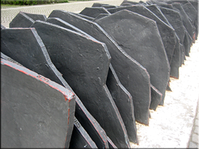 Monumento en recuerdo a 96 diputados izquierdistas asesinados por el régimen nacionalsocialista - Berlín'10