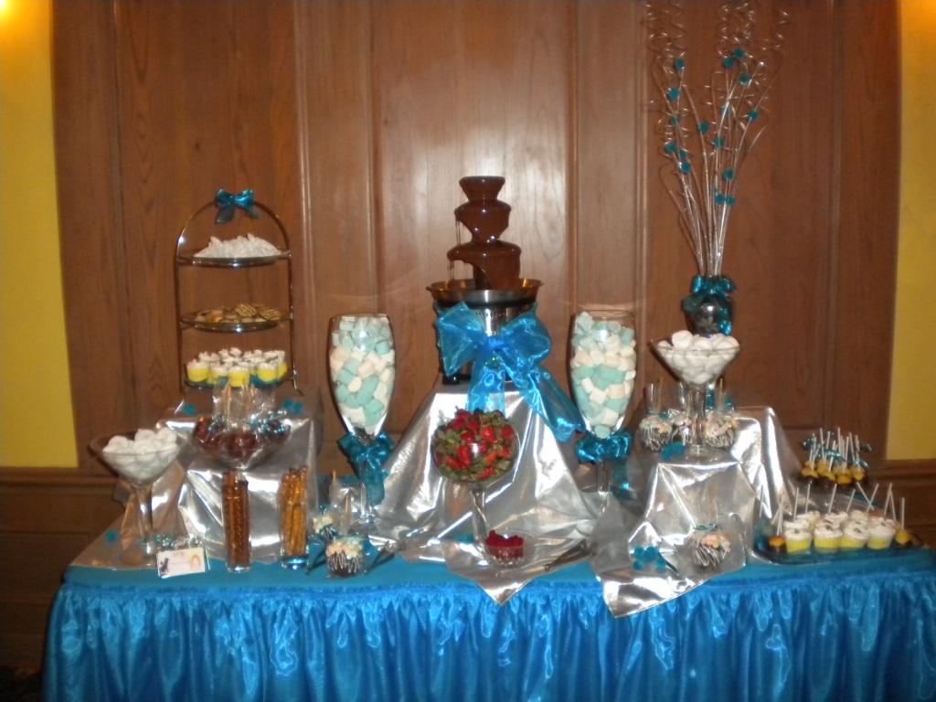 Royal pink decoracion de eventos royal pink barra de postres snacks y mesa de dulces - Decoracion con chocolate ...