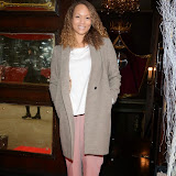 WWW.ENTSIMAGES.COM -       Angela Griffin  at    THE LAUNCH PARTY FOR THE 15TH ANNUAL WHATSONSTAGE AWARDS At Cafe de Paris London December 5th 2014                                               Photo Mobis Photos/OIC 0203 174 1069