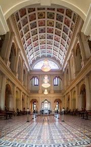 Full view of the Main hall of Noor Mahal