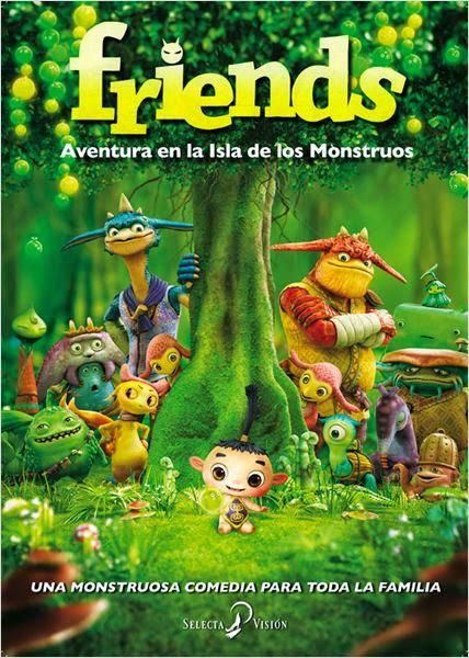 Friends: Aventuras En La Isla De Los Monstruos (2011)