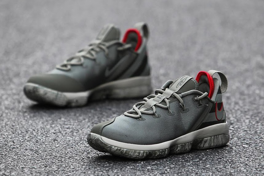 ... Get Up Close and Personal With Upcoming Nike LeBron 14 Low Olive ...