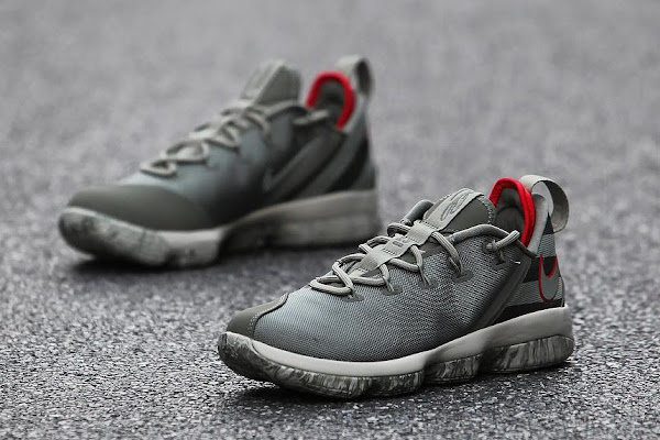 Get Up Close and Personal With Upcoming Nike LeBron 14 Low Olive