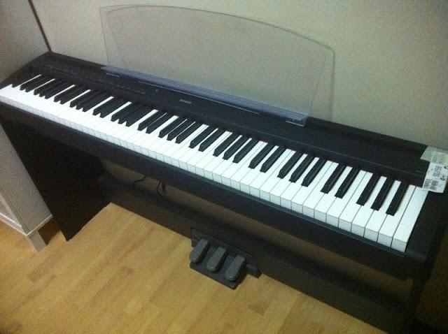 wts yamaha p95 digital piano. Black Bedroom Furniture Sets. Home Design Ideas