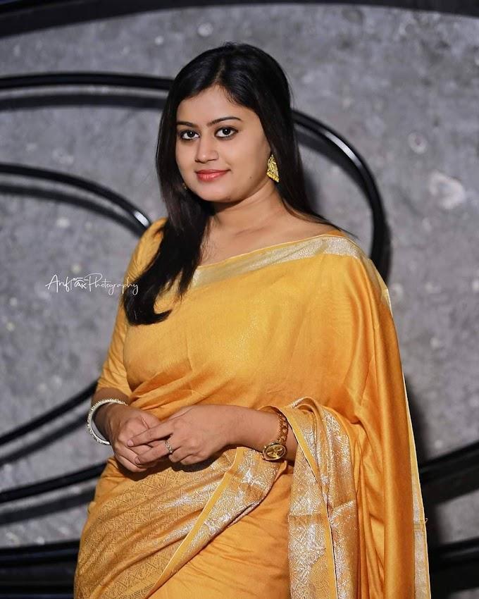 Ansiba Hassan Drishyam Malayalam Movie Actress Saree Stills