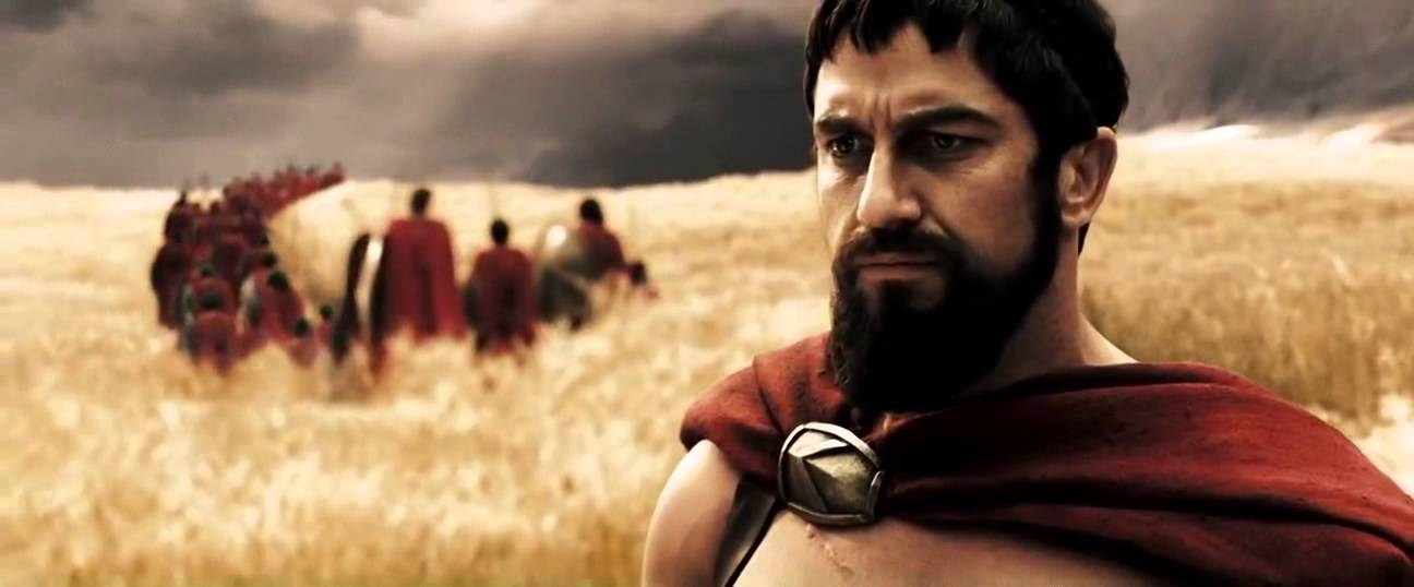 king Leonidas - from
