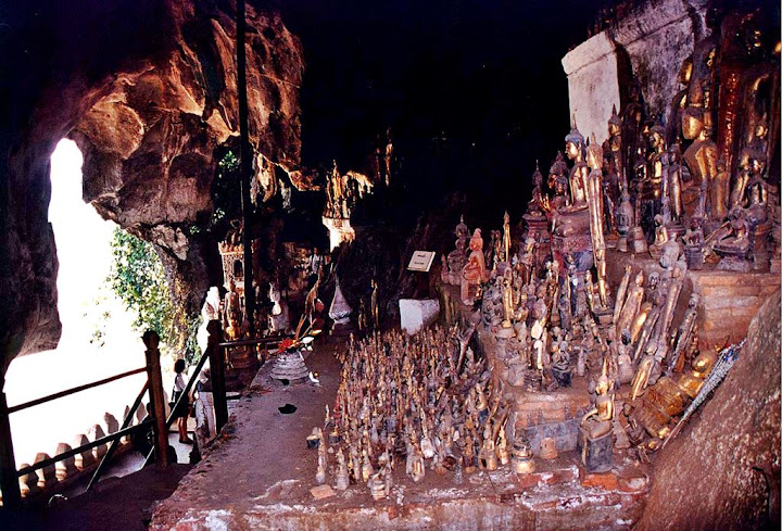 Pak Ou Caves, as cavernas dos budas defeituosos