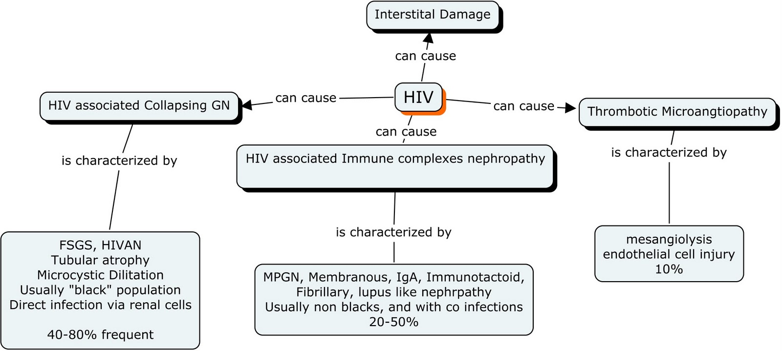 Adaptive Immunity Concept Map.Nephron Power Concept Map Of Hiv Hep C And Hep B And The Kidney