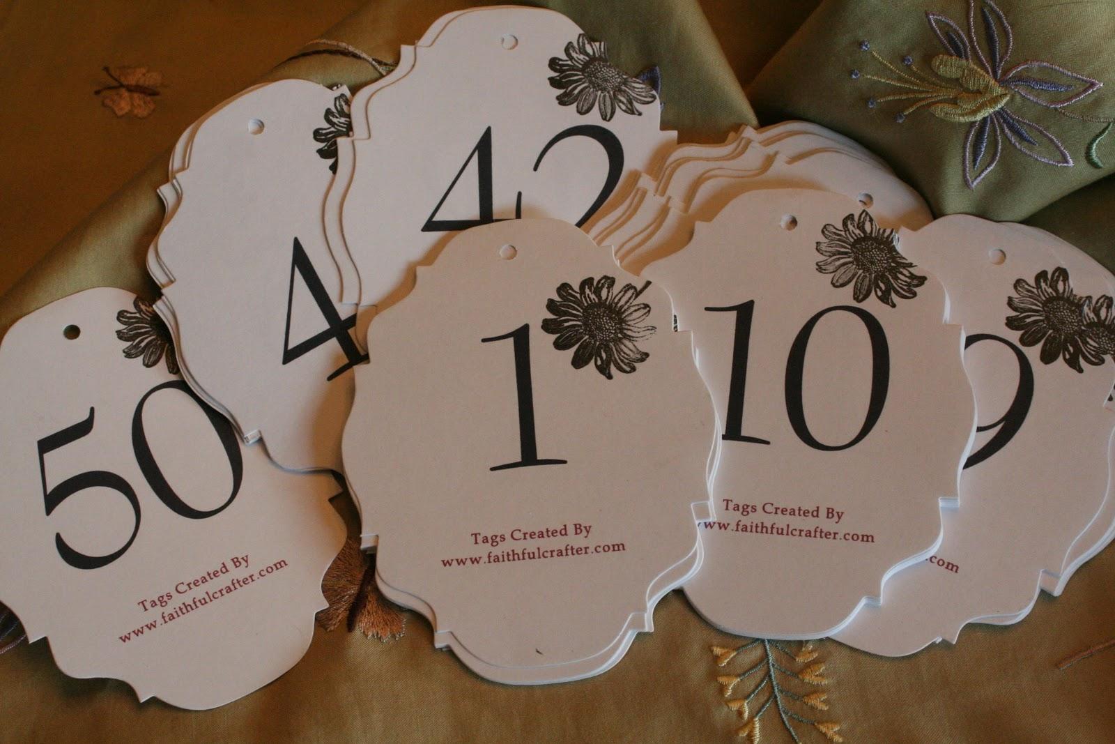 Faithful Crafter: Springtime Affirmation Tree Tags