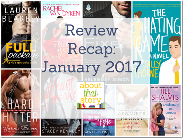 Review Recap: January 2017 | About That Story