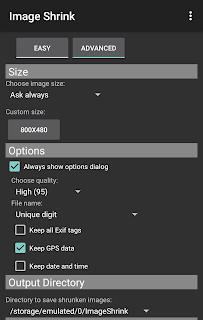 Image Shrink Lite—Batch resize screenshot 03
