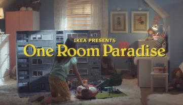 IKEA One Room Paradise TV Advert
