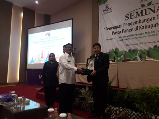 Distan Karawang Bareng Maxtex Agrotek Indonesia Gelar Seminar,Ini Kabarnya