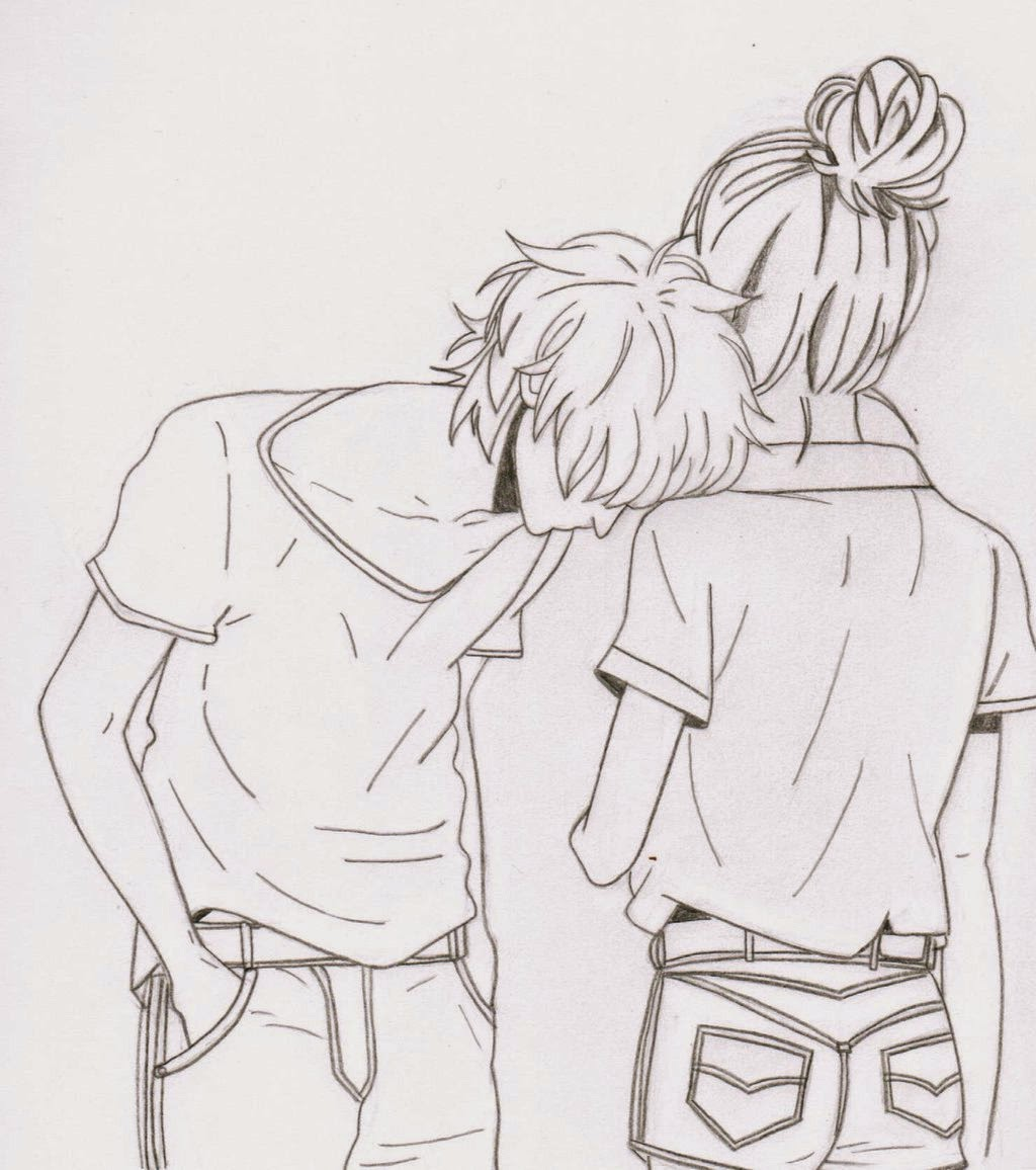 The gallery for --> Cute Couple Drawing Ideas Tumblr