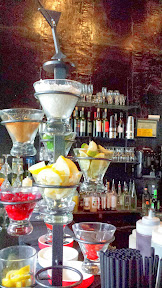 Martinis at Bartini, and a 3 Course Dinner at Urban Fondue
