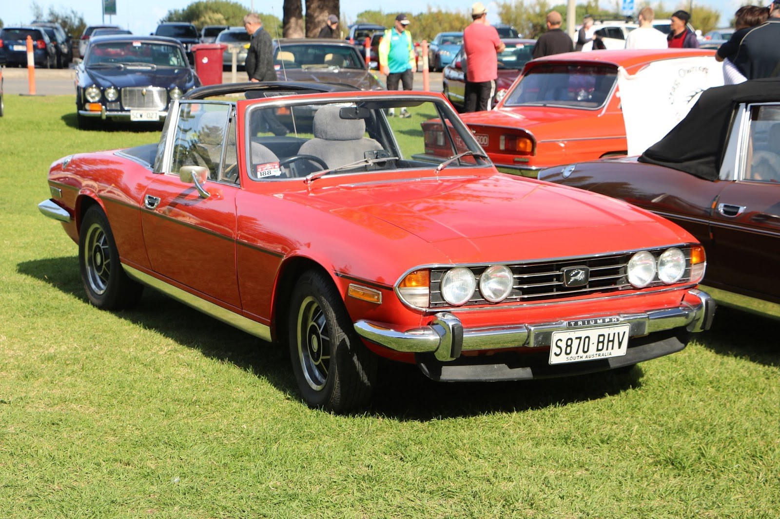 Triumph Stag - British_Classic_Tour_6_May_2018_0086.JPG