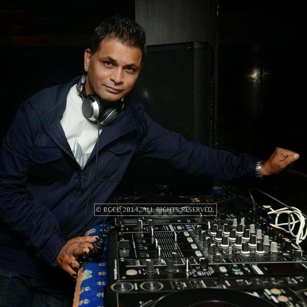 DJ Rudy poses for the lens during the 12th anniversary party of Dublin, held at Sheraton Park and Towers.