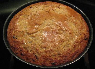 Gâteau de pain aux fruits secs - recette indexée dans les Desserts