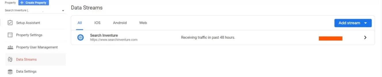 Get Google Analytics Global Site Tag.