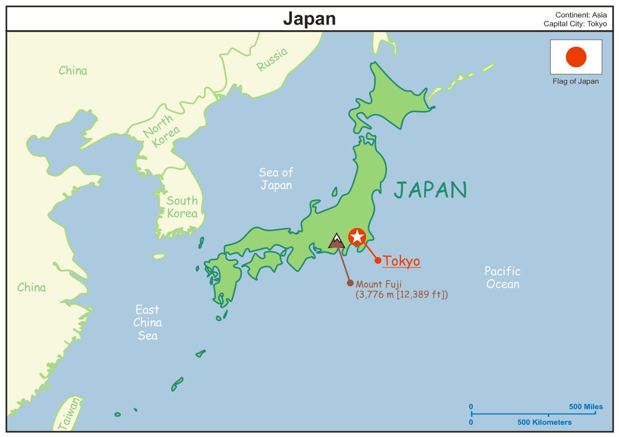 Blog EdWareie Japan Earthquake - Japan 2011 map