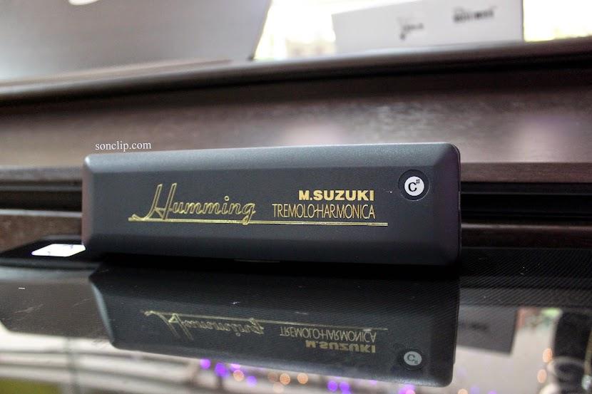 Kèn Harmonica - Suzuki Humming Tremolo SU-21H (key C#)